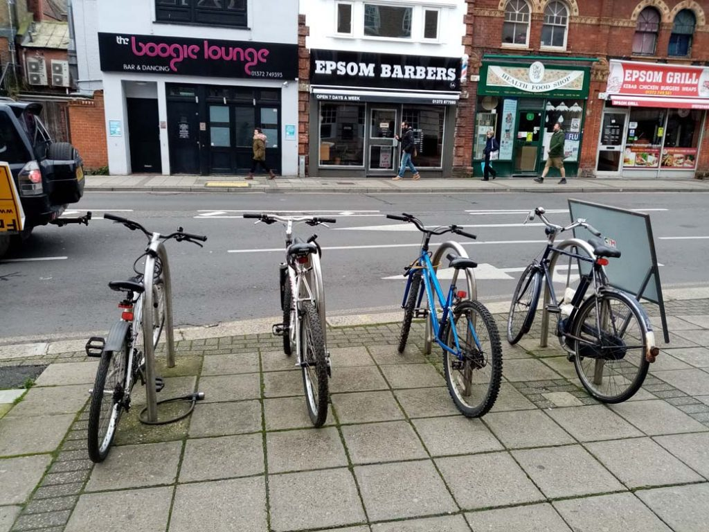 Picture of cycle stands